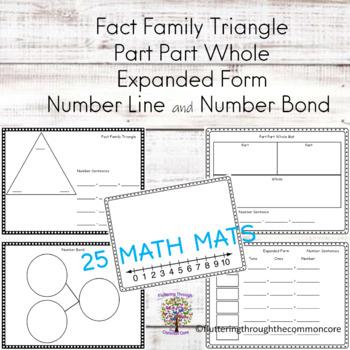 Math Mats for Center Activities (25)
