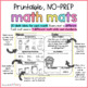 Math Review Worksheets for First Grade