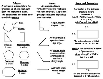 Math Matters Brochure