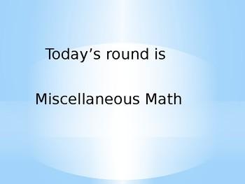 Math Matters: Misc. Math