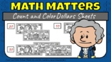 """Math Matters_ Count and Color """"Tens"""" Sheets"""