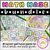 Math Maze Bundle