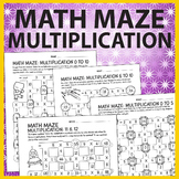 Math Maze Multiplication