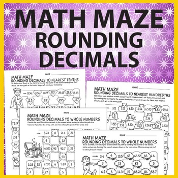 Math Maze: Rounding Decimals