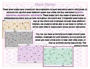 Math Mazes
