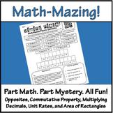 Math-Mazing Puzzles