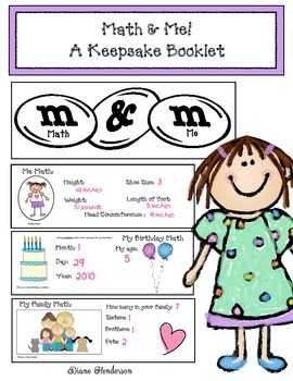 Flash Dollar Deal: Math & Me Keepsake Booklet