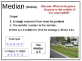 Math Mean Median Mode Range MMMR PowerPoint Data Graph Common Core CCSS Gr6 MAFS