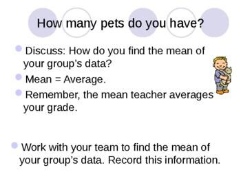 Math Mean Median Mode Range MMMR PowerPoint Data Graph Common Core CCSS Gr6 MAFS