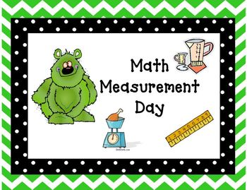 Math Measurement Day for Metrics, tied to Math Common Core Standards