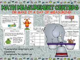 Math Measurement Centers, tied to Math Common Core Standards