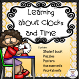 Math - Measurement - Learning About Clocks & Time