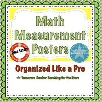 Math Measurement Posters