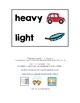Math Measurement Vocabulary Cards