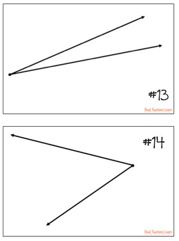 Math Measuring Angles Scoot- Common Core aligned