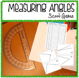 Math Measuring Angles Scoot- Common Core aligned