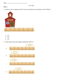 Second Grade Math Measuring Exit Tickets