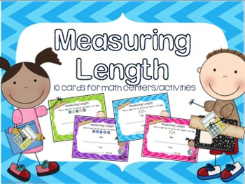 Math Measuring Length Activity for Math Centers Grades K-1