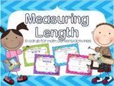 Math Measuring Length Activity for Math Centers Grades K-1