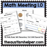 Math Meeting 1.0