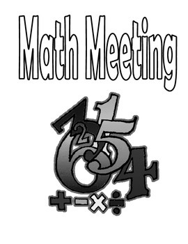 Math Meeting