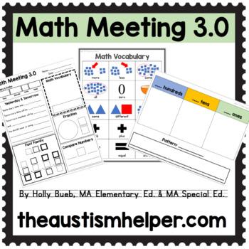 Math Meeting 3.0