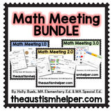 Math Meeting BUNDLE