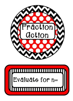Math Meeting Headers - Red and Black Theme