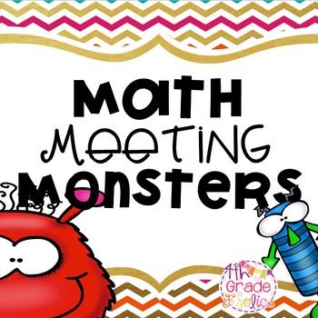 Math Meeting Monsters