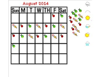 Math Meeting Smartboard Activities for September 2014