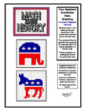 Math Meets History-Political Symbols Mystery Pictures-4QuadrantCoordinatePairs