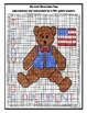 Math Meets History - Teddy for President Mystery Picture - Coordinate Graphing