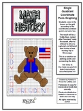 Math Meets History - Teddy for President Mystery Picture -