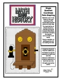 Math Meets History - Telephone Invention Mystery Picture - Coordinate Graphing