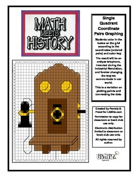 Math Meets History - Telephone Invention Mystery Picture -
