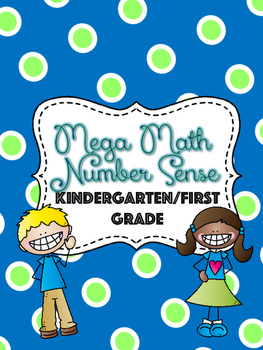 Number Sense Math Bundle- K/1 Skills