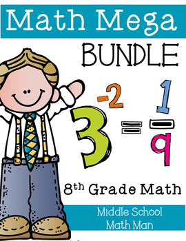 Math Mega Bundle (8th Grade Math)
