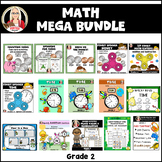 MATH STATIONS money time add subtract place value regroupi