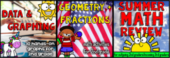 2nd Grade Math Mega Packet - A Year's Worth of Math Activities