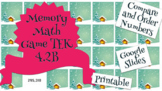 Math Memory Game - Compare and Order Numbers TEK 4.2B - Math Google Slides