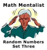 Math Mentalist - Set Three - Random Numbers