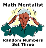 Math Mentalist - Set Three - Random Numbers