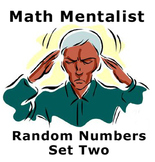 Math Mentalist - Set Two - Random Numbers