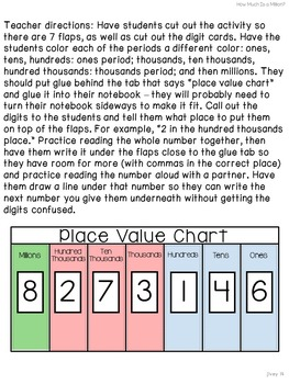 Math Mentor Sentences & Interactive Notebook Activities for 3rd and 4th Graders