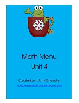 Math Menu 4