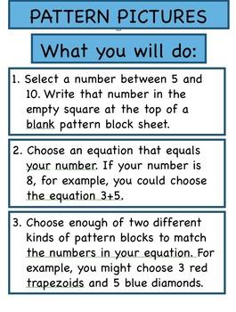 Math Menu Addition 6-10