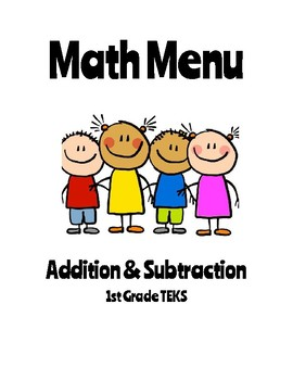 Math Menu (Addition & Subtraction)