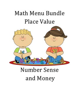 Math Menu Bundle