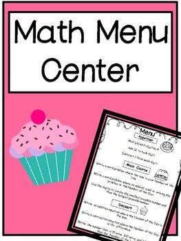 Math Menu Math Center