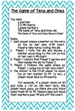 "Math Menu Task Cards using Marilyn Burns's ""Introducing Pl"